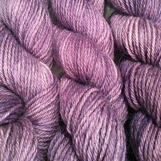 Hand Dyed Yarn - red