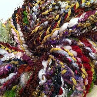 Homespun Yarn - multi colored